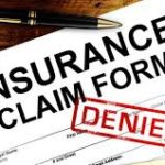 insurance claim form denied